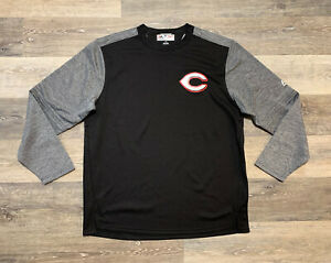 Majestic MLB Cincinnati Reds Therma Base Pullover Men's Size XL Black Gray