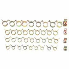 10x 8mm-14mm Spring Clip Fuel Line Hose Water Pipe Air Tube Band Clamps Fastener