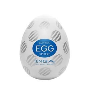 TENGA Egg Sphere White TPE Disposable Masturbator Sex Toys For Male Adults