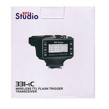 RPS Studio 331TC/C Wireless TTL Flash Trigger Transceiver (for Canon) *NEW*