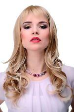 Élégantes Perruque pour Femme Long Blond Mix Ondulé Frange Env. 55cm 3001-27T613