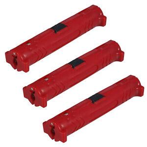 3x Abisolierwerkzeug Abisolierer Kabelmesser - Hilfe für Koaxial Koax SAT Kabel