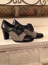 etienne aigner  Black And Cloth Man Taylor Shoes shoes size 9