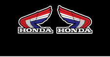 2 scritte Adesivi HRC HONDA sbk moto gp