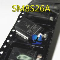 5PCS SM8S26A Automotive Transient TVS diode automotive PC board chip NEW