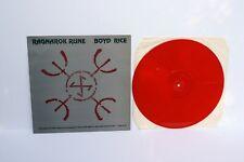 Boyd Rice Ragnarok Rune LP Original Rock-O-Rama NON Death in June
