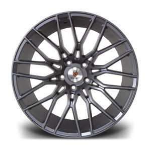"19"" Stuttgart ST8 Alloy Wheels Gunmetal 5x112 fits VW Golf 5 6 7   Scirocco"