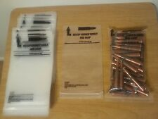 50 Original Brand New Plastic Ammunition Ammo Bags Brass Reloading Unused