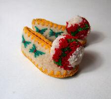 chaussures chaussons bébé traditionnels grèce TSAROUCHIA ethnique neufs P 18
