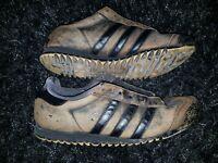 Sneaker Turnschuhe Laufschuhe Schuhe Adidas Rom - Us 8 1/2 Fr 42 used braun