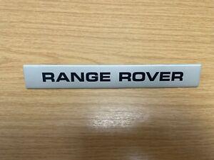 RTC4737 NOS Range Rover Classic Name Plate Decker Panel