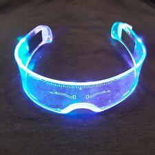 Cyberpunk-Brille LED Light Cosplay Shadowrun