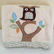 Skip Hop Treetop Friends Owl Blanket Cream Ivory