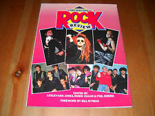 The Sony Tape Rock Review Top Thirty Music Acts of 1984 Foreword by Bill Wyman