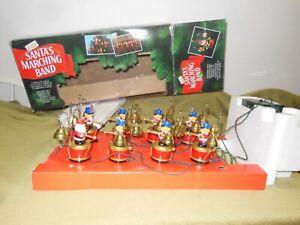 Mr. Christmas Santa's Marching Band Holiday Musical Bell Choir