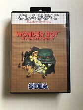 Wonder Boy In Monster World Sega Master System