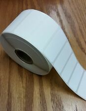 "Direct Thermal 1.75""x0.75"" Paper Barcode Labels for Zebra 2824/2844 - 6 Rolls"