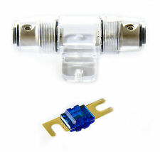 KFZ Mini ANL Sicherungshalter für Kabel von 6-25 mm² Halterung + 60A Sicherung