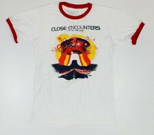 Close Encounters Of The Third Kind Sci-Fi Red Ringer T-Shirt New! Spielberg (3B2