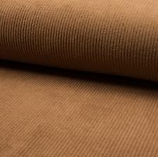 Stoff Cord Cordstoff Breitcord Kinderstoff Dekostoff Baumwolle Meterware braun