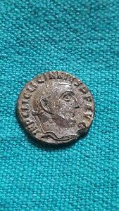 Licinius I Silvered Ae Follis of Antioch Rev Genius&Sol RIC VI 164A Superb