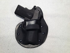 "Kimber Ultra carry II IWB holster paddle 1911 3"" inside waist band leather kydex"