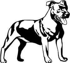 Staffordshire Bull Terrier Staff Gloss Vinyl Car Sticker Auto Decal Graphic