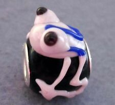 .925 MURANO GLASS BEAD FOR Charm European Beads Frog