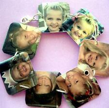 Custom keepsake memory charm bracelet w/your photos great mommy grandma gift mom
