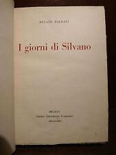 Renato Baldini : I Giorni di Silvano - Milano 1916 - Studio Editoriale Lombardo