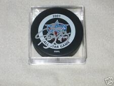Sean Burke Autographed 2001 All Star Game Puck