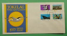 DR WHO 1977 TOKELAU FDC BIRDS  C241811