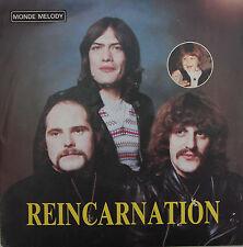"""Vinyle 45T Réincarnation """"Souvenir d'un enfant"""" - dédicacée au verso - TRES RARE"""