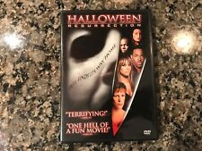 Halloween Resurrection Dvd! 2002 Cult Slasher! (see) Terror Train & The Fog
