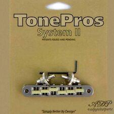 TonePros TP6G-N CHEVALET Nashville Tune-O-Matic Bridge Gformula 66'saddle NICKEL