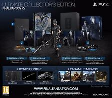 FINAL FANTASY XV 15 ULTIMATE COLLECTOR'S EDITION PS4 EN STOCK IN STOCK