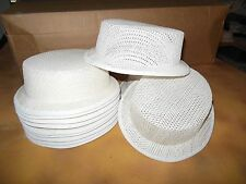 Lot of 6 Gibson Girl Ultrastraw hat frames White Child size Dance Theatrical