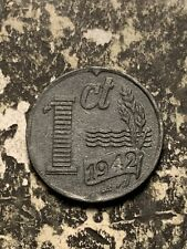 1942 Netherlands 1 Cent Lot#Q7917