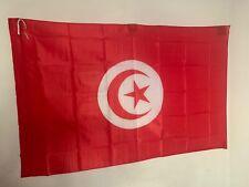 Drapeau Tunisie  - 145 cm X 90 cm - Livraison gratuite