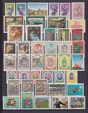 s17041) ITALIA MNH** 1975 Complete Year set 44v Annata Completa