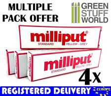 Milliput Yellow Grey (Standard) COMBOx4 packs Milliput Epoxy Putty Warhammer 40k