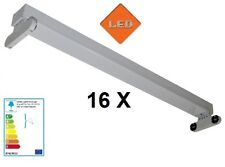 16 X Fassung für T8 LED Röhren Röhren Halterung 230V G13 Leuchte Art. HRS-T3