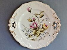 A Lovely Decorative Ceramic Plate with a Floral Design