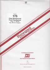 Showgard Clear Stamp Mount Strips 175mm 265 For US Sheets Pan American Reissues