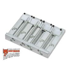 Leo Quan Badass Bass II Bridge 4 String Smooth Saddles Chrome