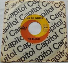 THE BEATLES Hello Goodbye / I Am The Walrus Ex CANADA 1967 PSYCH CAPITOL 45 7""