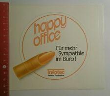 Aufkleber/Sticker: infotec Happy Office für mehr Sympathie im Büro (1309163)