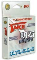 NEU Take Akashi Fluorocarbon Japan Schnur ultraclear 50-100-225m Auswahl Vorfach