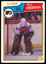 1983-84 OPC O PEE CHEE #268 PELLE LINDBERGH EX+ RC Philadelphia FLYERS Rookie