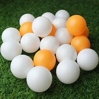 100/150Pcs Ping Pong Ball Table-tennis Balls Sports Acces Goods White Orange